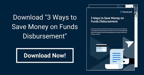 Funds Disbursement