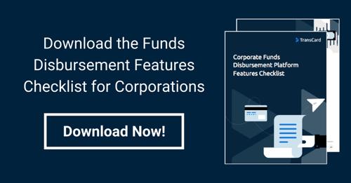 Funds Disbursement Checklist